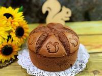 可可戚風蛋糕(6吋)