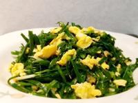 韭菜炒蛋~五分鐘家常菜清粥小菜
