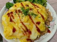 日式番茄雞肉蛋包飯