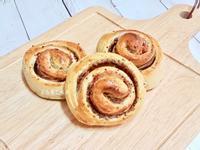 法式芥末籽培根麵包