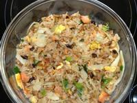 五穀米鮭魚炒飯