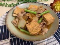 油豆腐豬肉燒