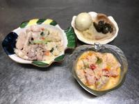 鮮食🐾虱目魚麵疙瘩 滷豬耳 牛奶燉菜