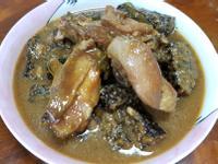 雞肉燴米血