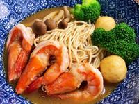 麵條先生 - 鮮蝦沙茶咖哩麵