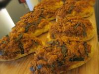 五分鐘免揉麵包~濃郁的兒時味-肉鬆海苔麵包