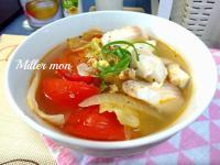 鯛魚蕃茄蔬菜湯