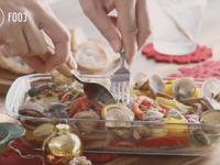 蛤蜊檸檬烤鱸魚