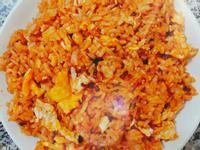 蕃茄玉米蛋炒飯