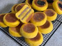 南瓜芋泥餅(免揉、免烤箱)