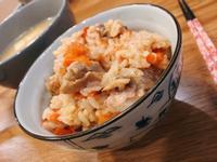 簡單料理~雞肉番茄松茸炊飯