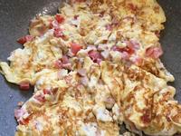 雞肉德式香腸煎蛋