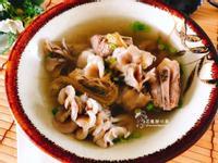 舞菇龍鬚排骨湯(美容瘦身湯品)
