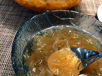 桃膠銀耳湯(含皂角米)