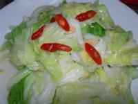 蝦皮蒜香高麗菜