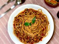自製:蕃茄肉醬義大利麵