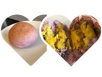 紫芋地瓜泥麵包