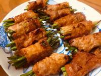 低醣韓式豬肉蘆筍捲