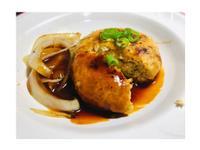豆腐漢堡排 (可作素食,無肉蛋奶)