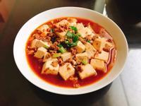 麻婆豆腐(川菜)
