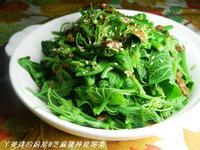 ㄚ曼達的廚房~芝麻醬拌龍鬚菜