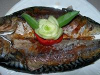 乾煎挪威鯖魚