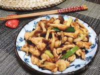 麻油蕈菇雞柳【好菇道營養料理】