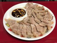 蒜泥梅花肉片-電鍋料理簡單上菜