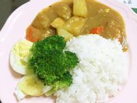蘋果雞肉咖喱飯(小小孩也適用)