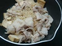 五花油豆腐煲蒟蒻麵 (低醣)
