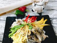 胡麻醬菇菇涼米粉【好菇道營養料理】