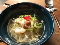 韓式豆芽雙菇冷湯【好菇道營養料理】