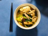[澳洲]沙茶雞豬肉湯麵