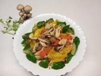 干貝鮮味雙色菇【好菇道營養料理】