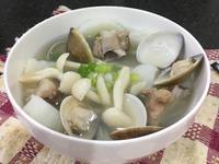 菇菇山藥蛤蜊排骨湯【好菇道營養料理】