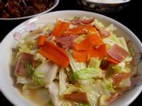 韓式蝦醬高麗菜