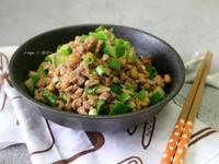 味噌納豆炒肉末