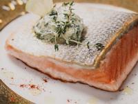 低醣 <海鮮>檸檬奶香鮭魚排