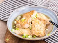 低熱量開胃料理: 梅汁燒豆腐