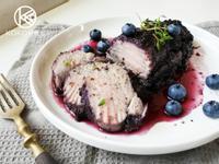 酸甜藍莓烤豬里肌