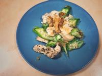 日式秋葵炒雞胸(低脂餐)