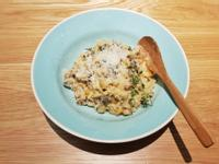 朝鮮薊蘑菇雞肉燉飯