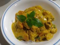 泰式椰漿咖哩雞