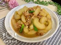 大黃瓜燒肉(刺瓜)