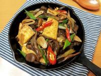 舞菇鐵板豆腐【好菇道營養料理】