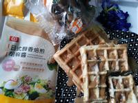 【好菇道營養料理】胡麻醬淋鮮菇鬆餅早餐