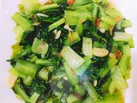 油蔥青江菜