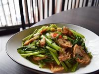 這一鍋-麻辣大腸炒空心菜