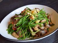 這一鍋-麻辣雞胗炒水蓮
