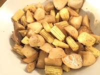 奶油玉米筍杏鮑菇